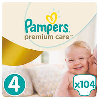 Подгузники Pampers Premium Care Dry Max Maxi 4 (8-14 кг) MEGA PACK 104 шт.