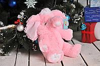 Плюшевая игрушка Алина Слон 55 см розовый