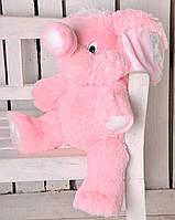 Мягкая игрушка Слон 80 см розовый