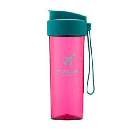 Бутылка розовая для воды