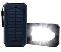 power bank портативная зарядка 28000 mah 2 USB солнечная зарядка