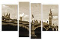 Модульная картина мост и Биг Бен