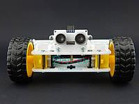 Ультразвуковий датчик відстані 0-5м з кріпленням для платформи T-BOT, фото 1