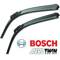 Дворники Bosch AeroTwin, 530мм ⟷ 475мм., A974S