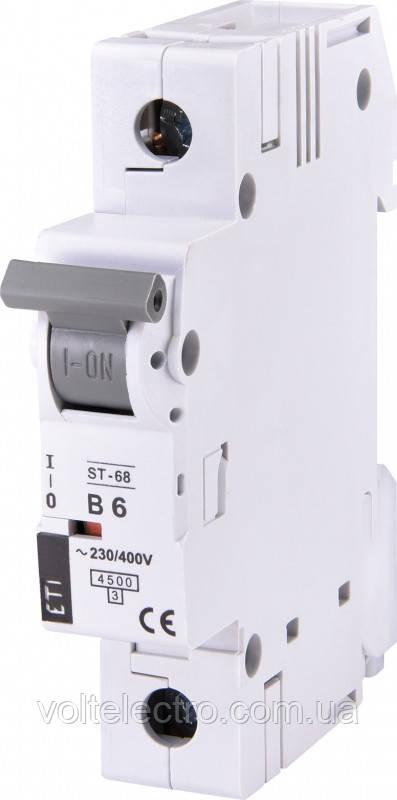 Автоматический выключатель ST 68 1p C25 4,5kA