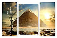 Модульная картина пирамида