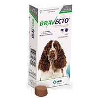 Бравекто - таблетка для защиты собак от блох и клещей 10-20кг