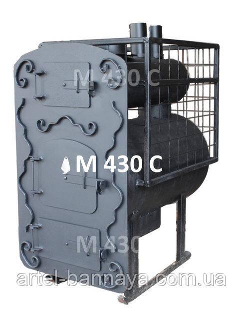 Печь металлическая для бани парАвоз