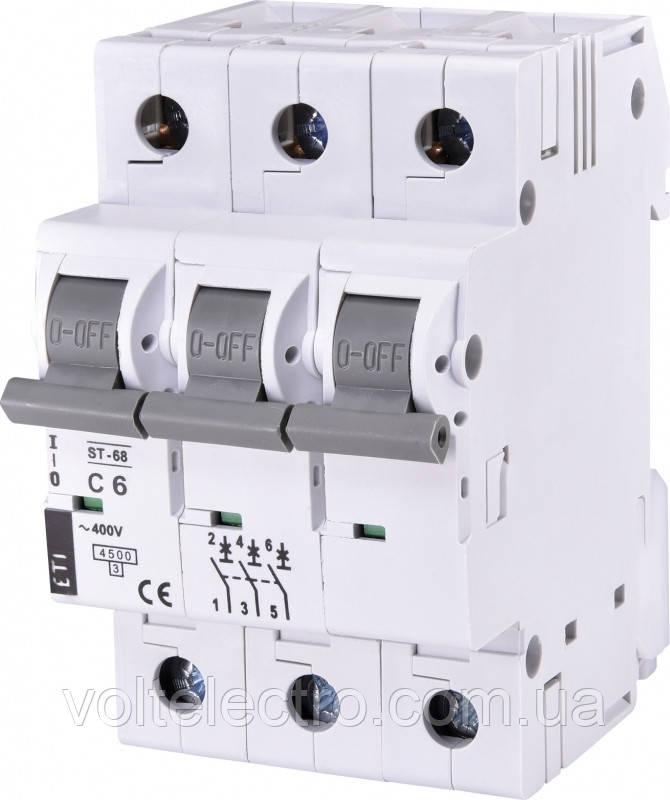 Автоматический выключатель ST 68 3p C20 4,5kA