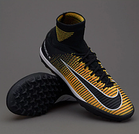 Сороконожки Nike MercurialX Proximo II DF TF - Laser Orange/Black/Volt