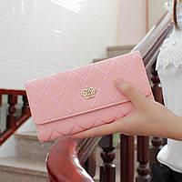 Модный женский кошелек светло-розового цвета LANJINJUE