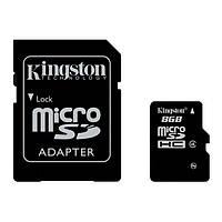 Memory card SD micro 8GB CLASS4 + адаптер micro SDHC
