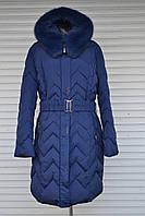 Зимняя куртка больших размеров Пальто Symonder больших размеров, батал, на холлофайбере, 54 (52), фото 1