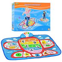 Детский Развивающий Музыкальный Коврик 2504-01 WinFun , Интерактивный Коврик 2504 для детей