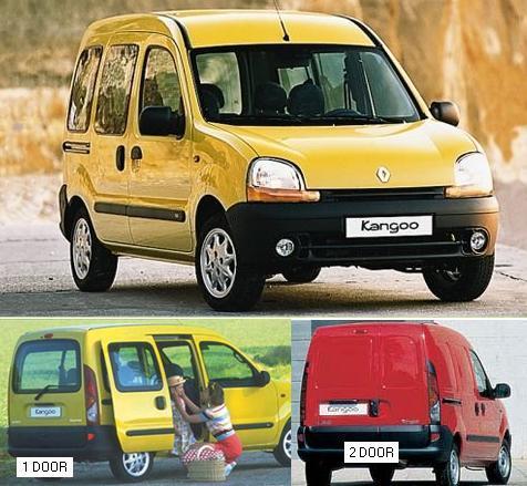 Renault kangoo 97-03 Рено Кенго