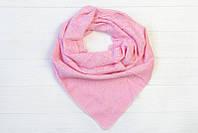 Милый платок розового цвета
