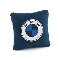 Подушка з лого BMW флок, фото 1