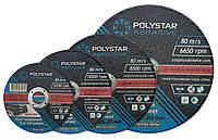 Круг отрезной по металлу Polystar Abrasive 41 14А 350х3х25,43