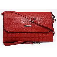 Модная женская сумочка - клатч Lorenti красного цвета