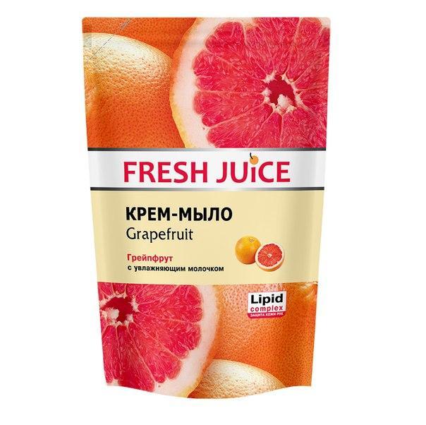 """Fresh Juice"""" Жидкое крем-мыло 460 МЛ. с увлажняющим молочком Grapefruit (грейпфрут)"""