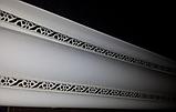 Карниз алюмінієвий БПО-11 полімер (2,5 м) дворядний, фото 2