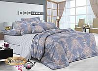 Комплект постельного белья с компаньоном ТМ KRIS-POL (Украина) сатин хлопок двуспальный