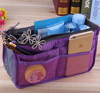 Органайзер в сумку многофункциональный Bag in Bag Фиолетовый (28*17*8,5 см) top-240