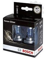 Лампа галогенная BOSCH H7 Xenon Silver 12V 55W, 2 шт, 1987301087