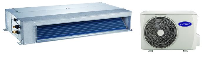 Сплит-система канального типа Carrier 42QSS018DS-1 / 38QUS018DT-1, фото 2