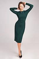 Платье женское бутылочное