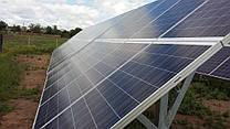 """Солнечная электростанция под """"зелёный тариф"""" мощностью 30 кВт  Разумовка, ул. Крупской"""