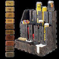 Деревянный органайзер большой 57см*50см*33 см