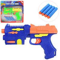 Детская игрушка пистолет с мягкими пулями 781B