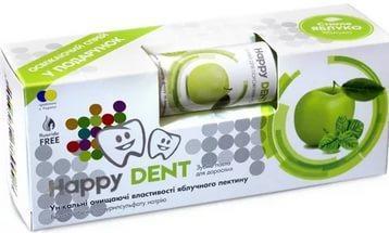 Happy Dent Зубная паста Спелое Яблоко+спрей Яблуко