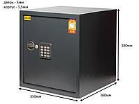 Сейф мебельный ЯМХ-36Е для офиса
