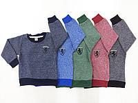 Детский свитер Ферари с напылением ангоры  2-6 лет
