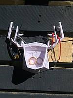 Подставка под украшения Рога (Белый) (16*15*6 см) top-0083