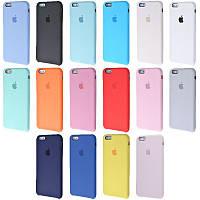 Silicone Case Original iPhone 6/6s Plus (+Стекло в подарок)