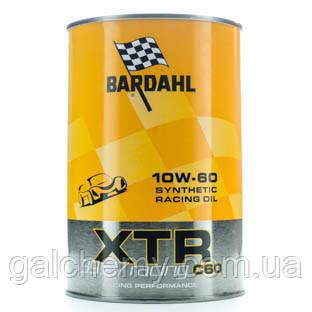Моторне масло Bardahl XTR 10W60 С60 Racing 1 л (327052)