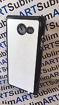 Чехол для 2D сублимации пластиковый на Samsung Galaxy j5 (j520) 2017 черный, фото 2