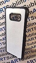 Чехол для 2D сублимации пластиковый на Samsung Galaxy S8 plus черный, фото 2