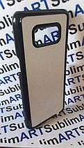 Чехол для 2D сублимации пластиковый на Samsung Galaxy S8 черный, фото 2