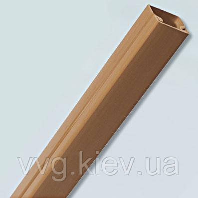 Кабельный канал (короб) 12х12 (200 м.п./уп) тёмно-коричневый 220тм