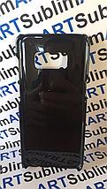 Чехол для 2D сублимации пластиковый на Samsung Galaxy S8 черный, фото 3