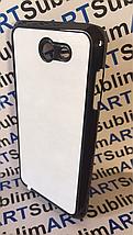 Чехол для 2D сублимации пластиковый на Samsung Galaxy j7 (j720) 2017 черный, фото 2