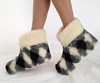 Домашние тапочки  чуни из  овчины и  Ваши  ножки  в тепле