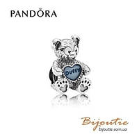 Pandora шарм DISNEY МИШКА DUFFY #792129EN128 серебро 925 Пандора оригинал
