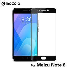 Защитное стекло Mocolo 2.5D 9H на весь экран для Meizu M6 Note черный