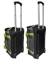 Комплект сумок на колесах (60+50 см) 2 в 1 салатовий