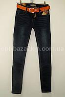 Женские джинсы с ремнем M.Sara (26-32) — оптом по низким ценам от производителя в одессе 7км
